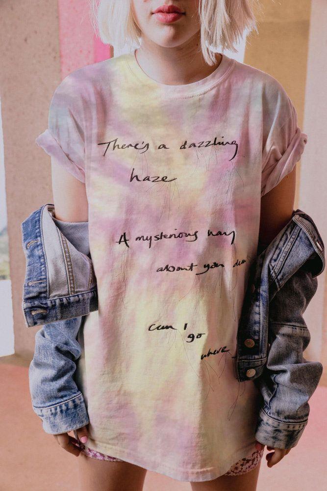 T-shirt lunga Stella McCartney x Taylor Swift