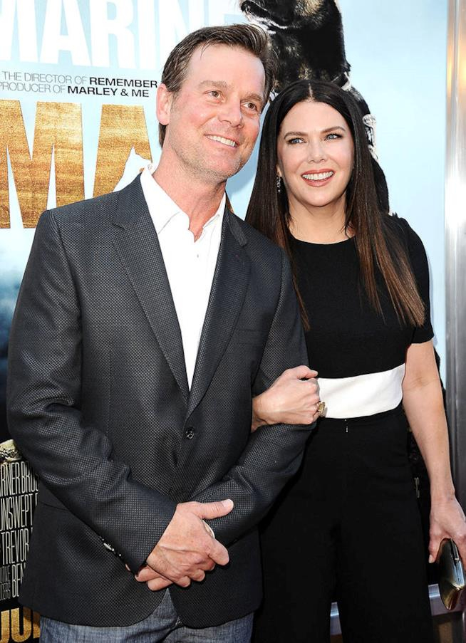 La coppia Lauren Graham e Peter Krause