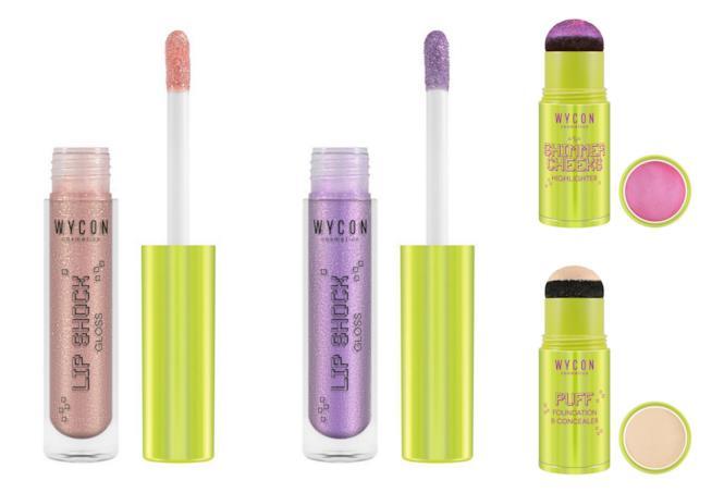 Alcuni prodotti della Pixie Collection Wycon