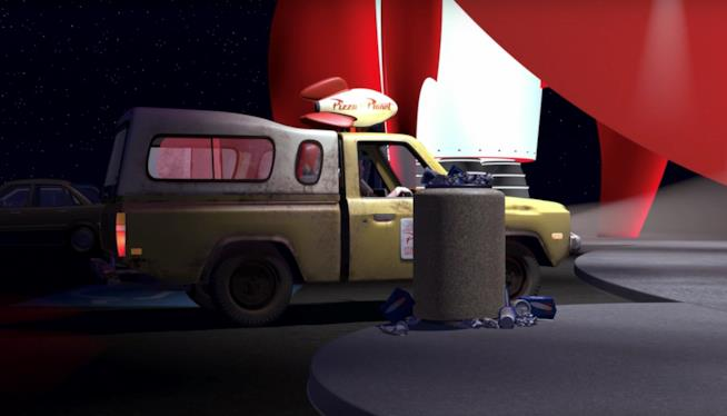 Camioncino The Pizza Planet di Toy Story