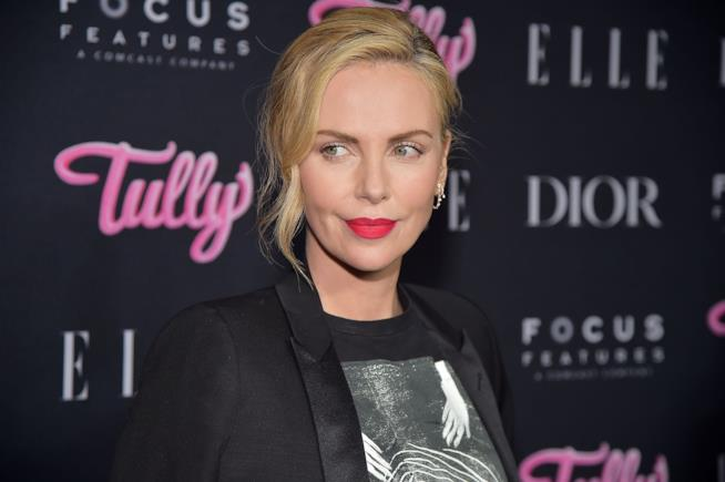 L'attrice Charlize Theron