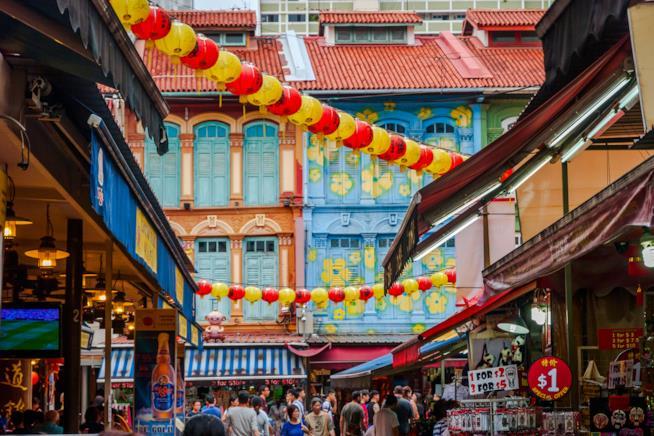 Chinatown, non la sua caotica atmosfera