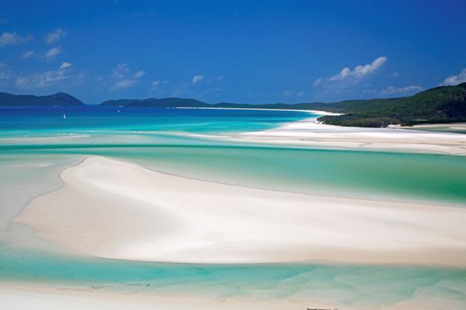 La spiaggia più popolare su Instagram: Whitehaven Beach