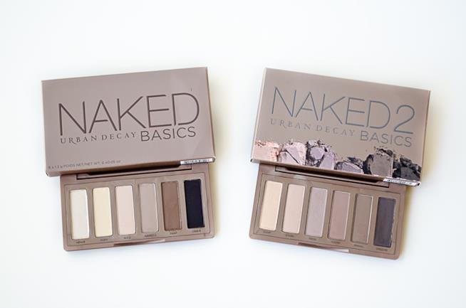 Le 2 Naked Basics di UD