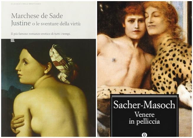 Venere in pelliccia e Justine, romanzi erotici a sfondo BDSM