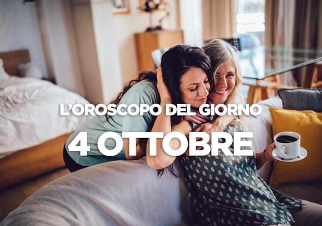 L'oroscopo del giorno di Giovedì 4 Ottobre