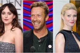 Dakota Johnson, Chris Martin e Gwyneth Paltrow