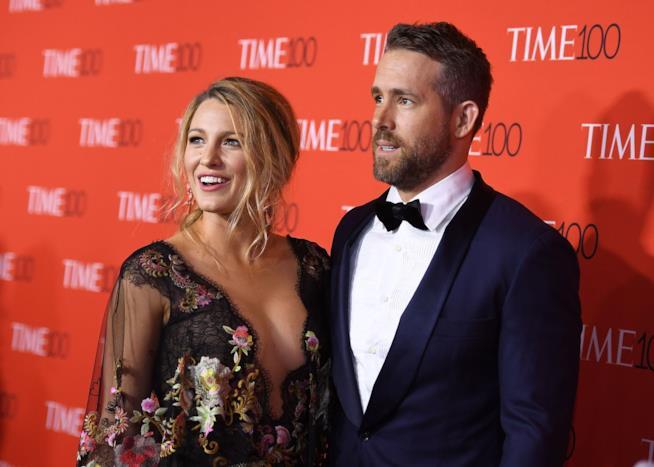 Blake Lively con Ryan Reynolds