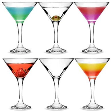 City bicchieri da Martini e Cocktail