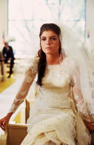 L'abito da sposa di Elaine Robinson ne Il Laureato