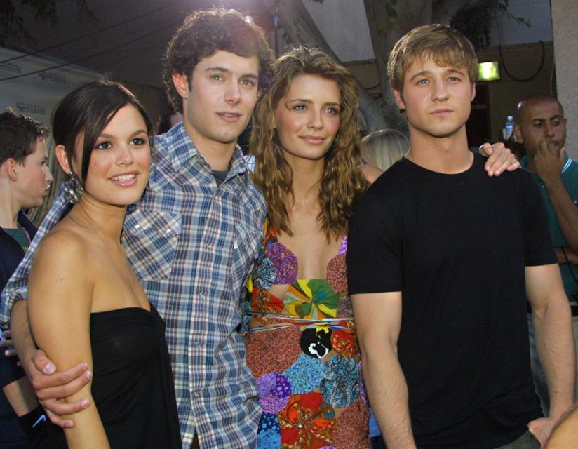 Rachel Bilson, Adam Brody, Mischa Barton e Ben McKenzie