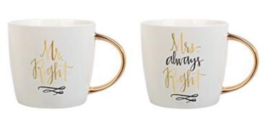 Mugs - Mr. Right & Mrs.