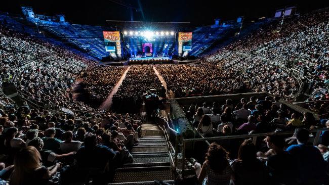 Finale del Festival Show 2016 all'Arena di Verona