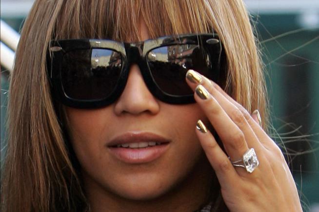 L'anello di fidanzamento regalato da Jay Z a Beyoncé