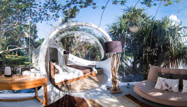 Mauritius, Bubble Lodge