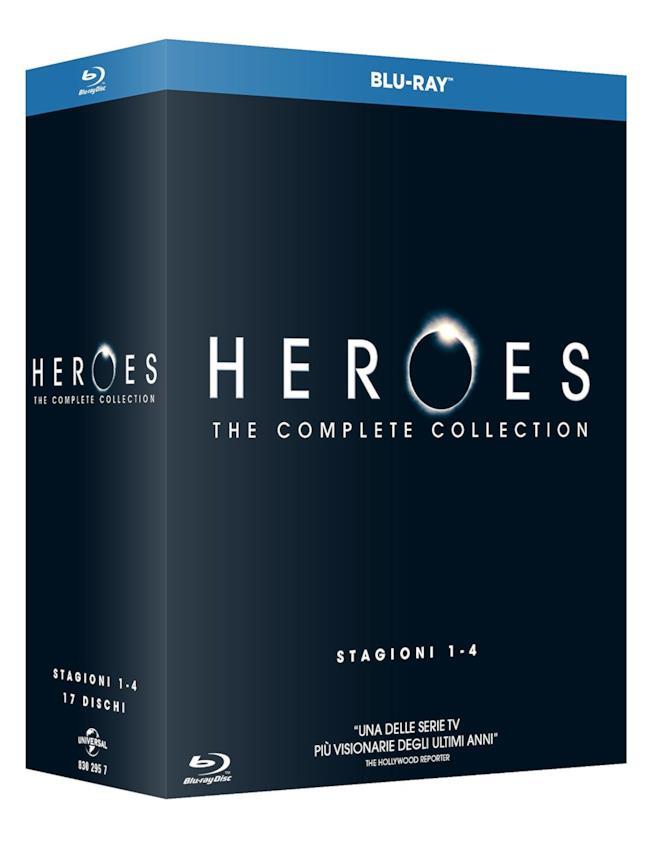Cofanetto Blu-ray di Heroes - Stagioni 1-4