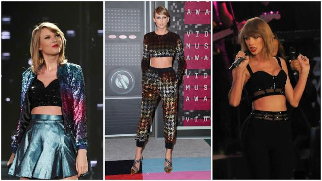 Il look uniforme di Taylor Swift