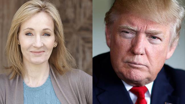 J.K. Rowling e Donald Trump