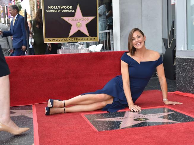 Jennifer Garner sulla Walk of Fame