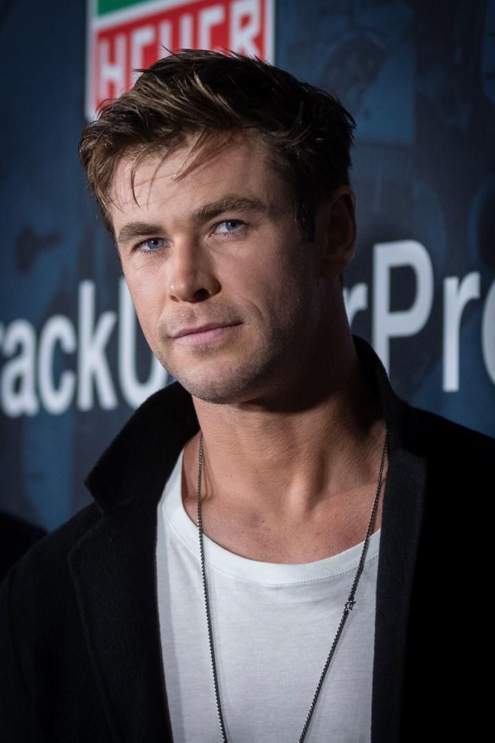 L'attore Chris Hemsworth