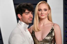Joe Jonas e Sophie Turner al party degli Oscar di Vanity Fair