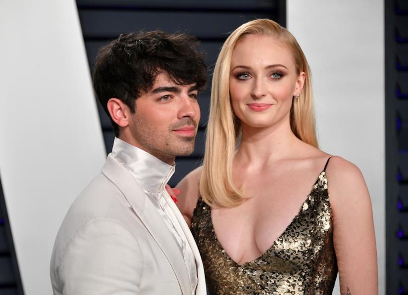 Joe Jonas e Sophie Turner al party degli Oscar di Vanity Fair
