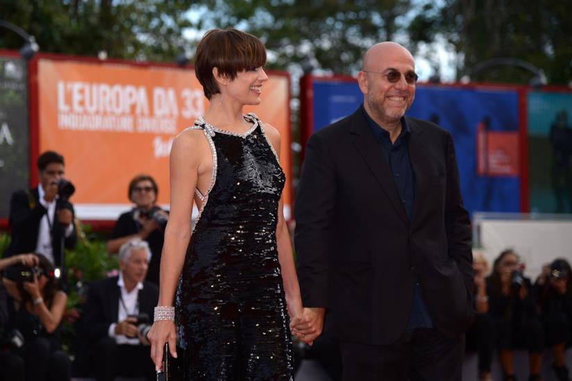 Micaela Ramazzotti e Paolo Virzì sul red carpet