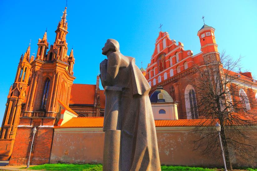 La Chiesa di Sant'Anna di Vilnius