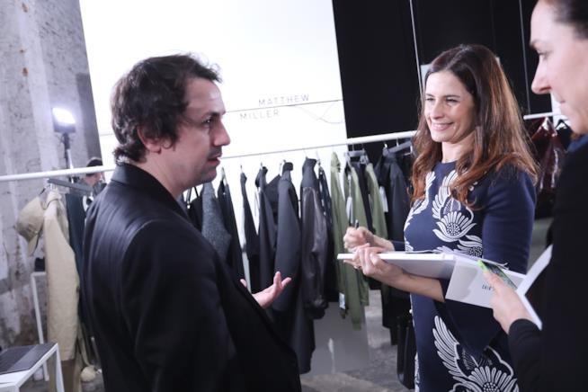 Livia Firth alla London Fashion Week 2018