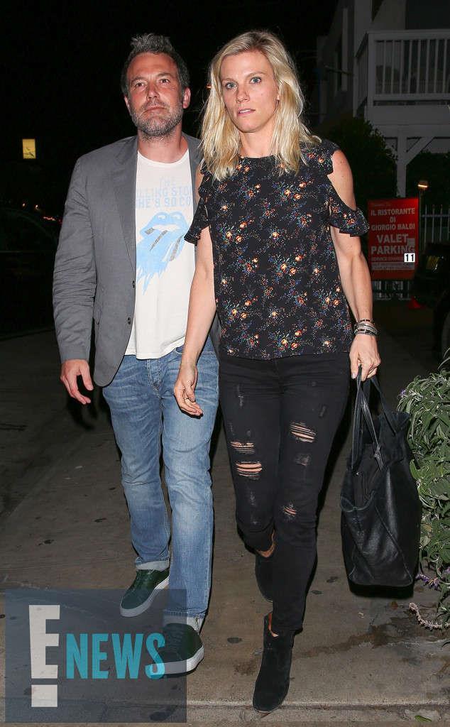 Ben Affleck con la nuova fiamma Lindsay Shookus