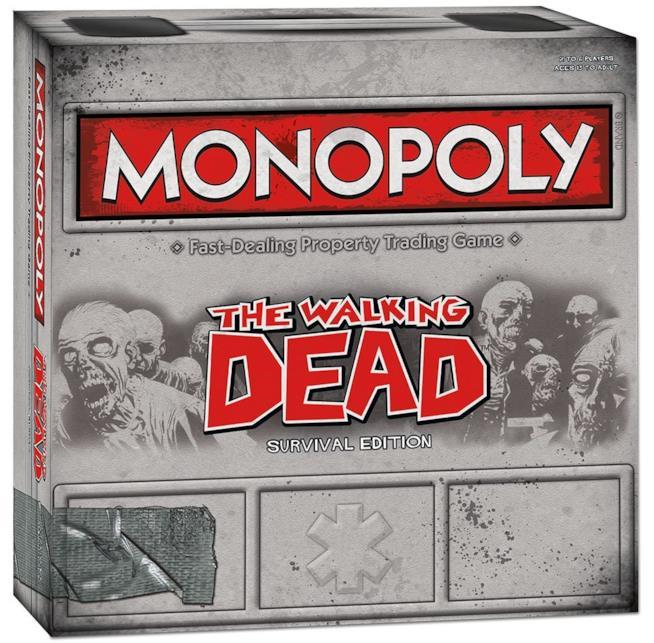 Il Monopoli dedicato a Walking Dead