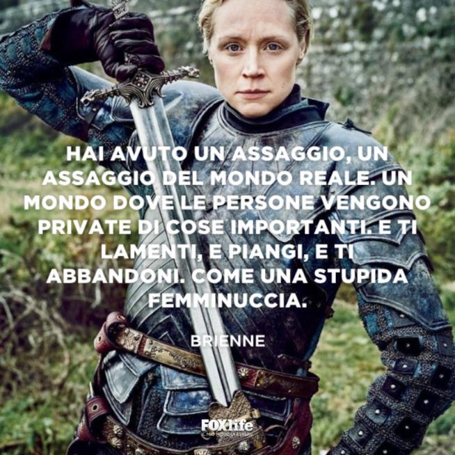 Brienne primo piano