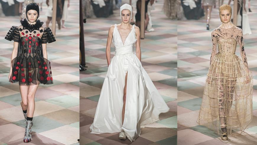 La collezione Haute Couture 2019 di Dior porta il circo a Parigi: i capi rappresentativi