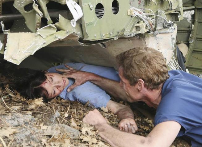 Lexie muore tra le braccia di Mark
