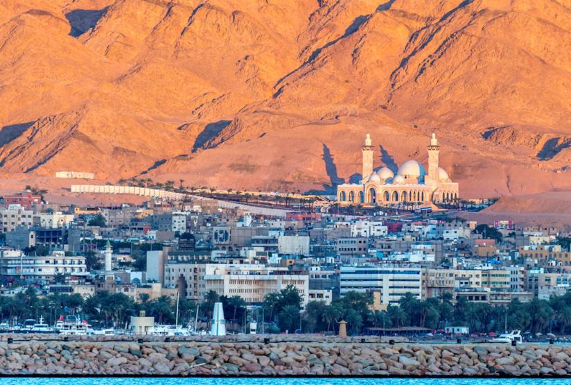 Vista di Aqaba