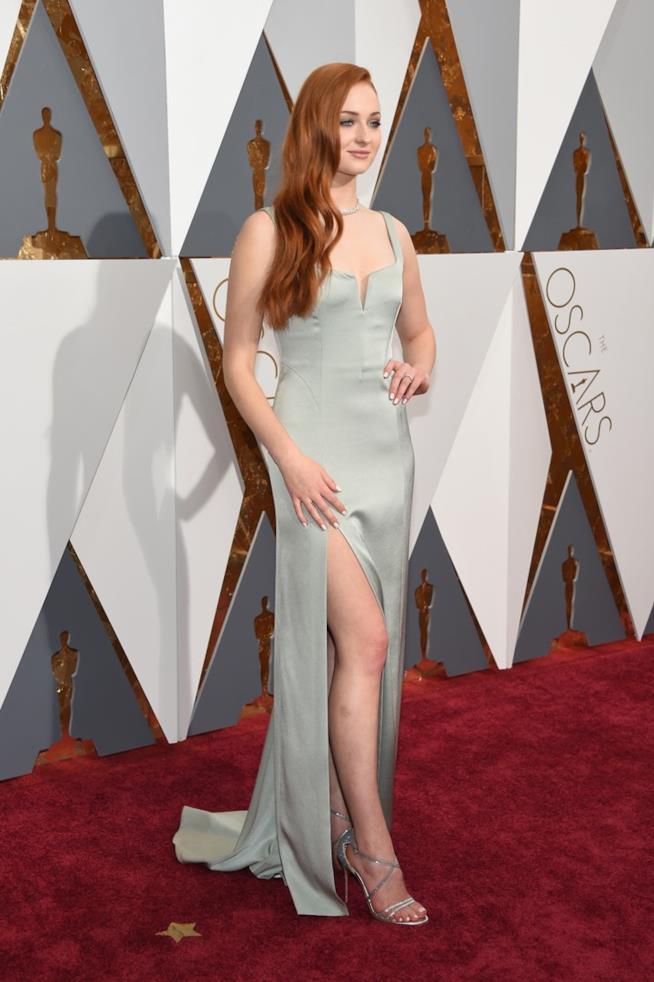 Sophie Turner agli Oscar 2017