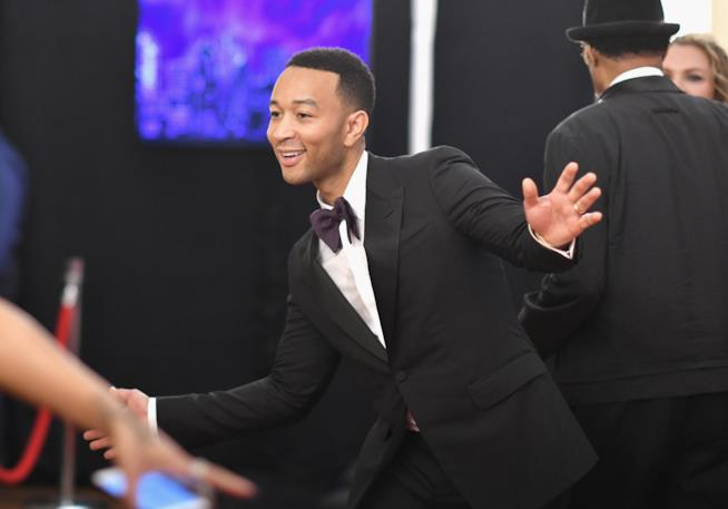 John Legend sul red carpet