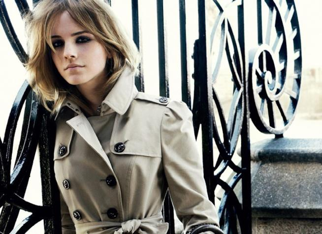 Emma Watson testimonial di Burberry