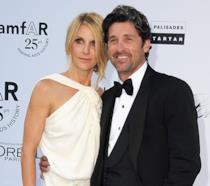 Patrick e Gillian Dempsey al 25esimo gala dell'amfAR