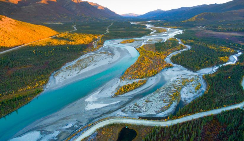 Il verde dell'Alaska