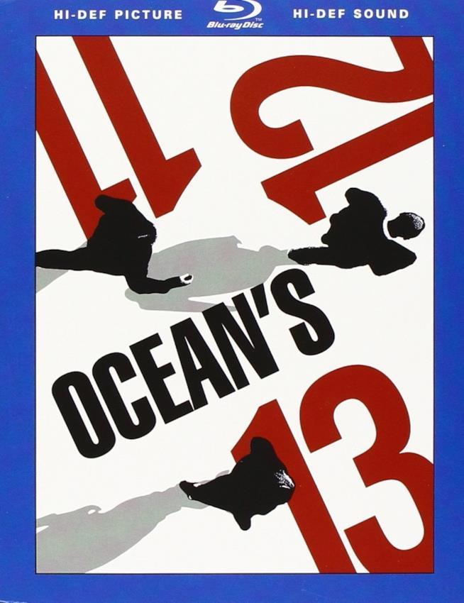 Cofanetto Blu-ray di Ocean's Eleven, Ocean's Twelve e Ocean's Thirteen