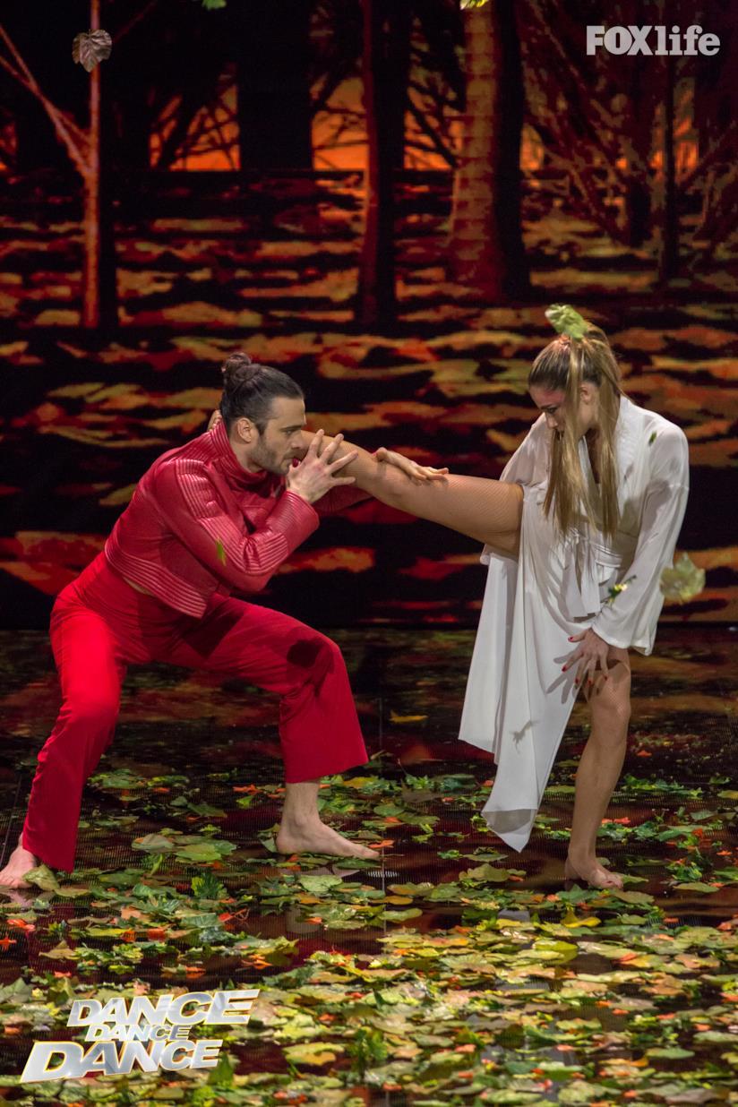 Cristina Marino e Giulio Berruti si esibiscono a Dance Dance Dance