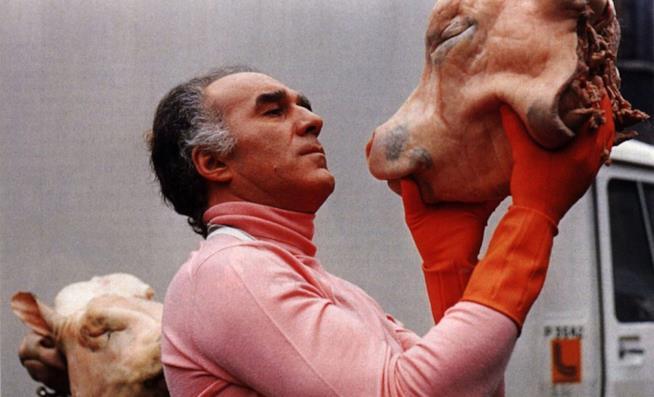 Michel Piccoli in una scena della pellicola di Marco Ferreri