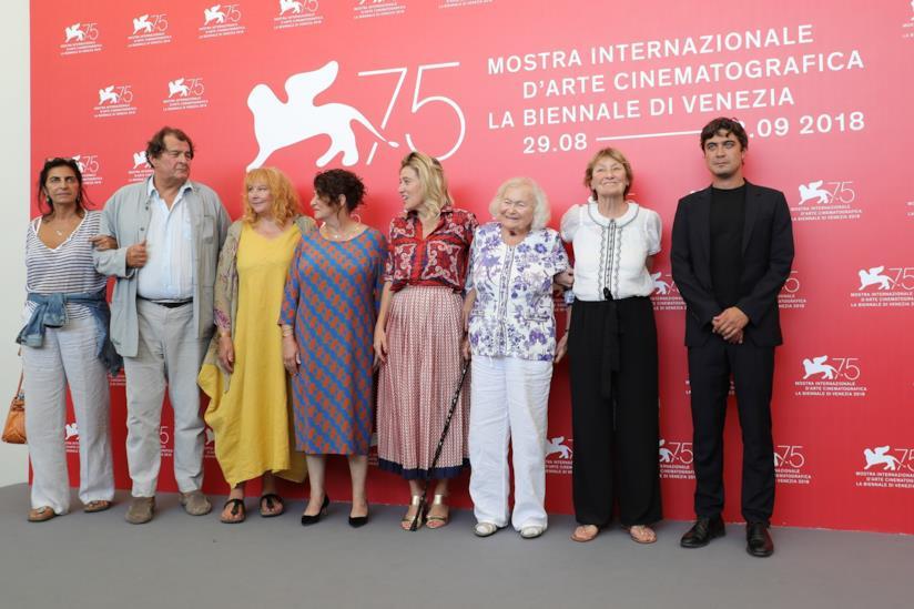 Il cast del film I villeggianti a Venezia 75
