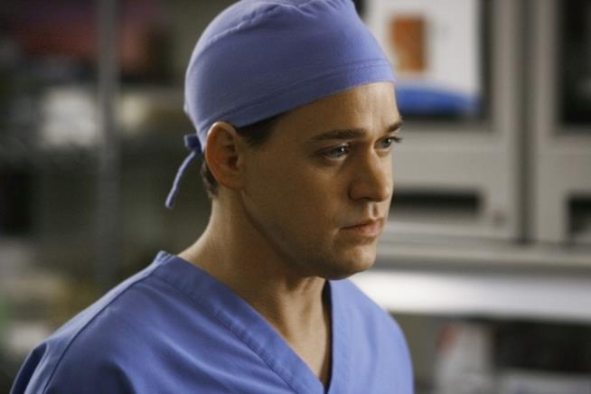 George O'Malley in una scena di Grey's Anatomy
