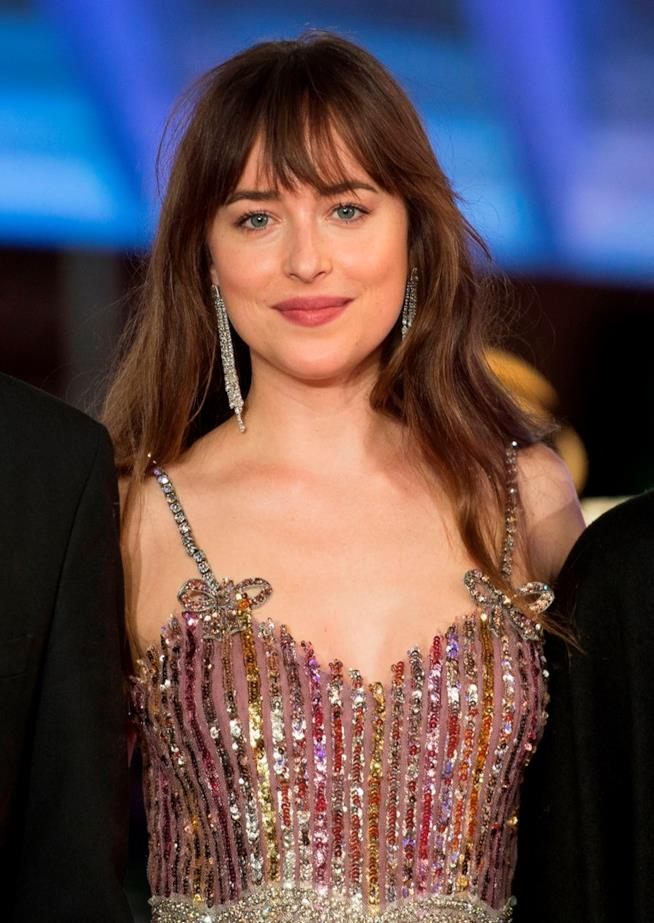 Dakota Johnson in primo piano