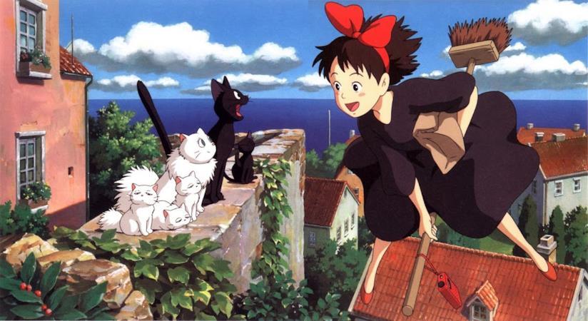 Una scena del film Kiki - Consegne a domicilio