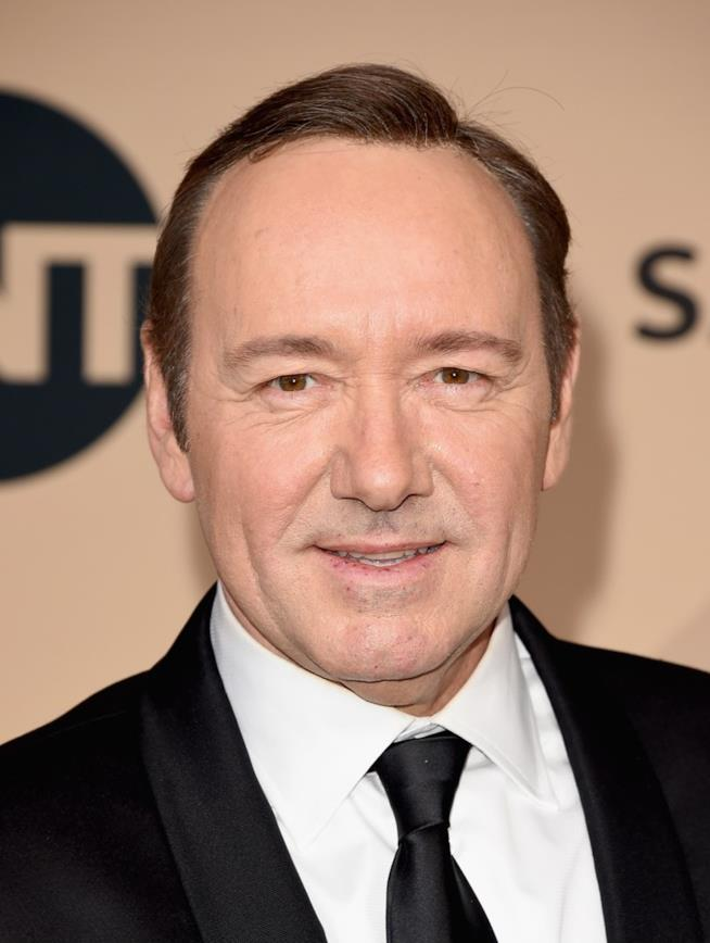 Kevin Spacey in primo piano
