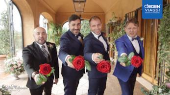 Novità incredibile a Quattro Matrimoni: a sfidarsi ci saranno gli sposi