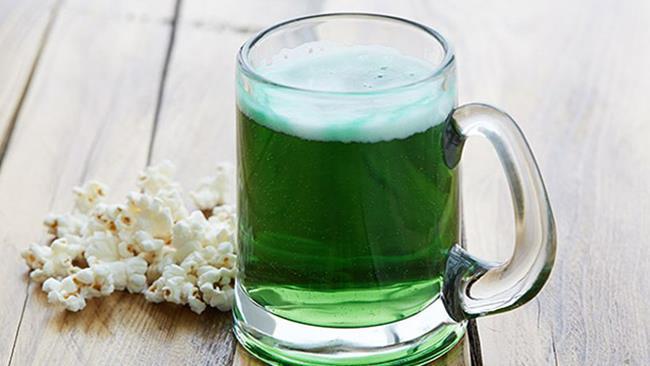 Birra verde: Festa di San Patrizio